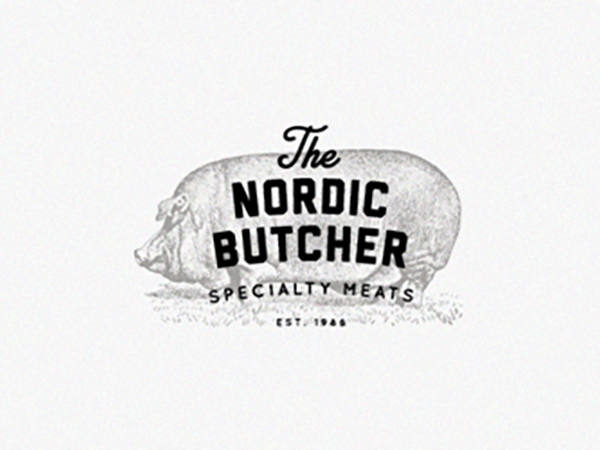 The Nordic Butcher Logo