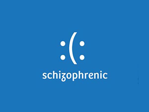 Schizophrenic Logo