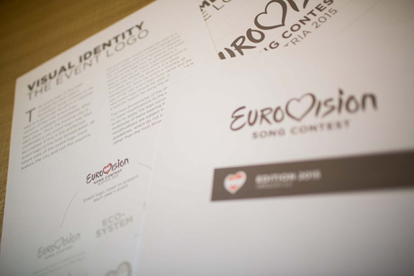 Eurovision Song Contest New Logo by Cityzen Agency