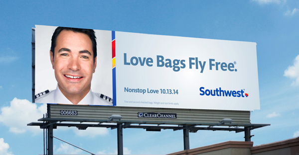 New Southwest Airlines Outdoor