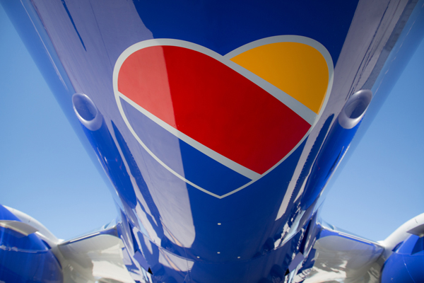 Southwest Airlines Brand New Heart