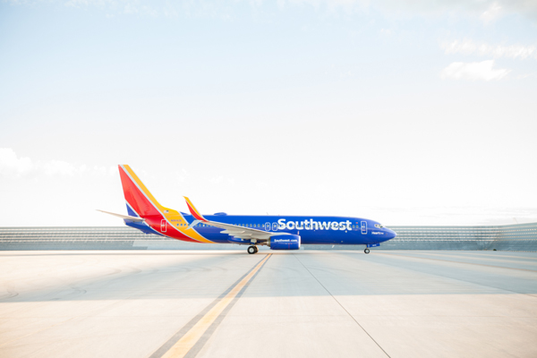 Southwest New Logo Livery