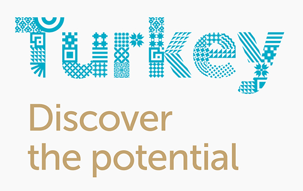 Turkey Discover the Potential Logo