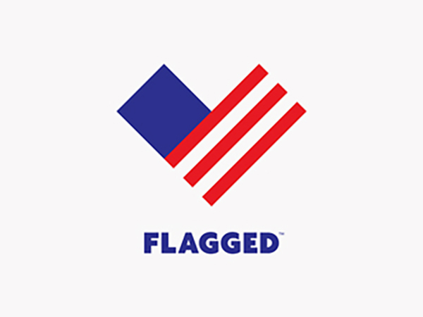 Flagged Logo