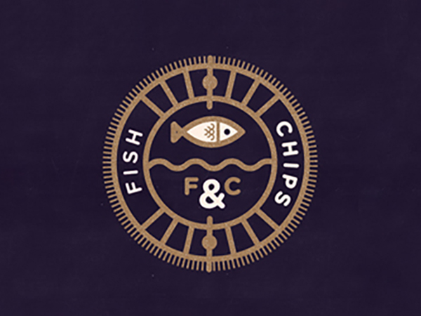 Fish and Chips Logo