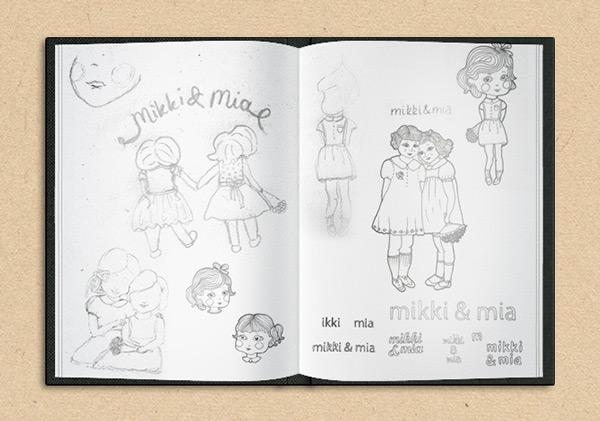 Mikki & Mia Logo Design