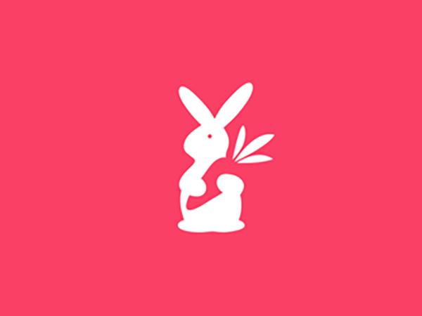 Rabbit Loves Carrot Logo