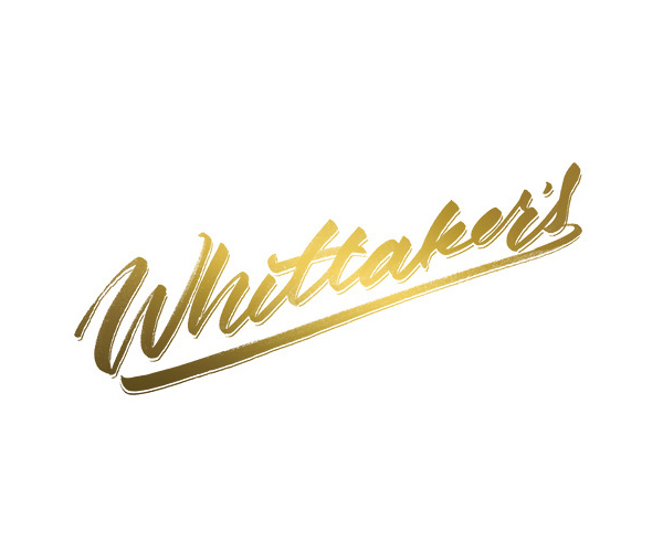 Whittakers Logo Lettering by Sara Marshall