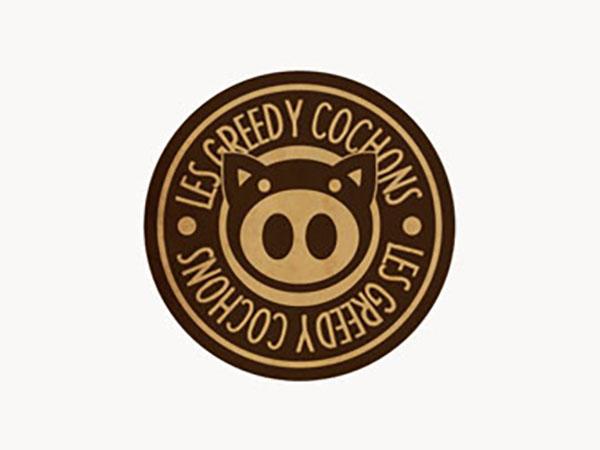 Les Greedy Cochons Logo