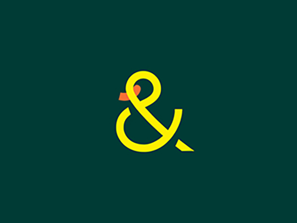 & Duck Logo