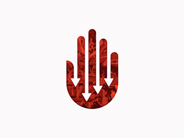 Hands Down Logo