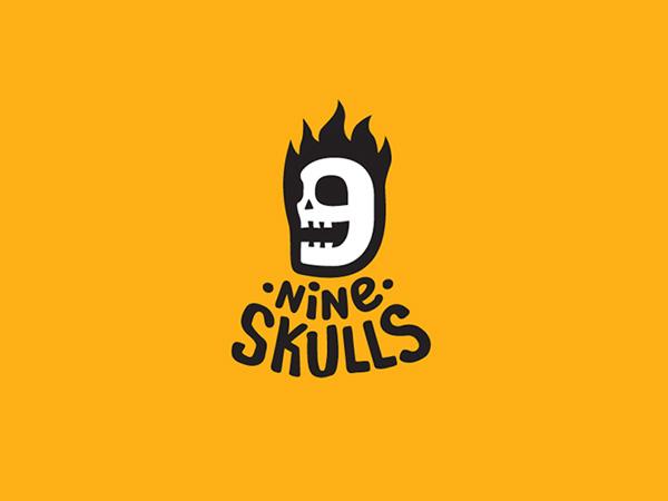 Nine Skulls Logo