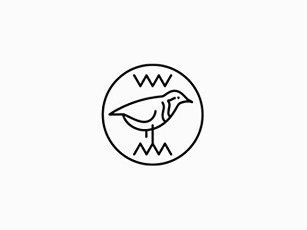 Plover Bird Logo