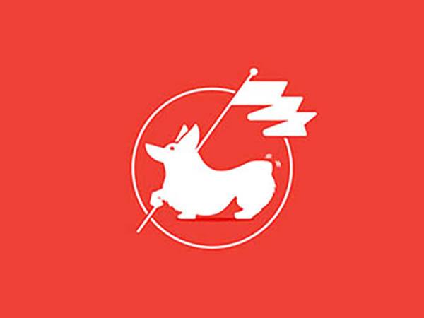 Corgi Flag Logo