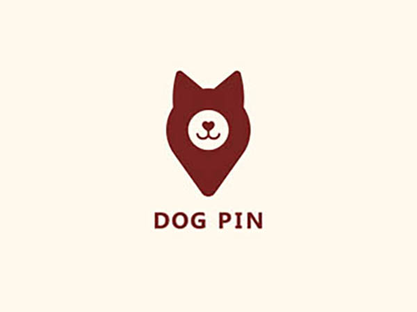 Dog Pin Logo