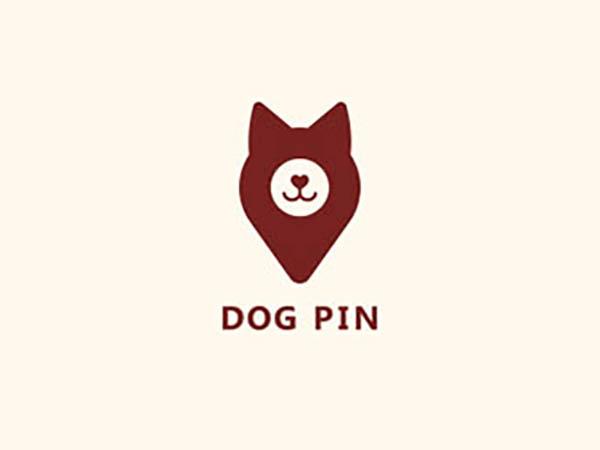 Dog Pin Logo