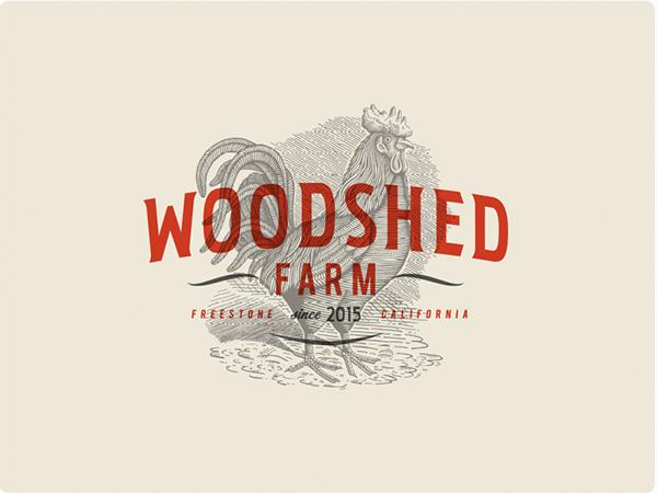 Woodshed Farm Logo