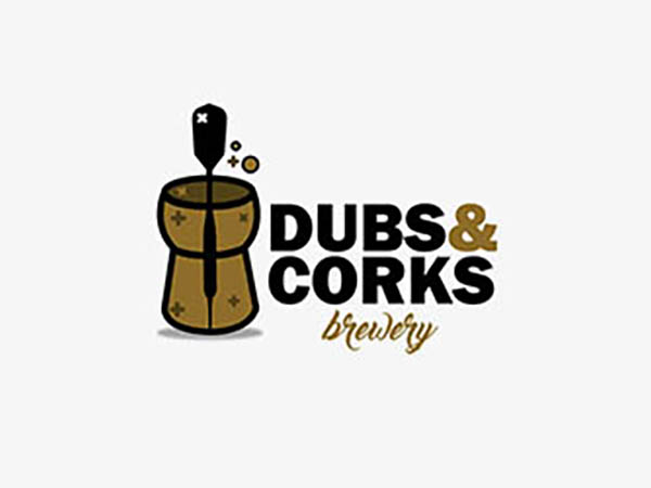 Dubs & Corks Brewery Logo
