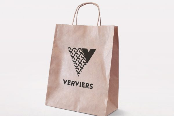 New Logo for the Belgian Town of Verviers by Synthèse