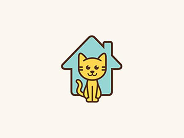 Cat Adoption Logo