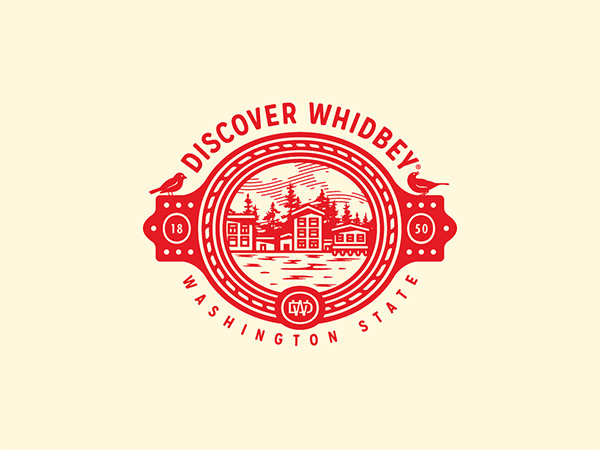 Discover Whidbey Logo