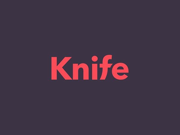Knife Logo