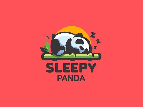 Sleepy Panda Logo