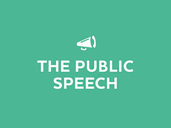 The Public Speech Logo