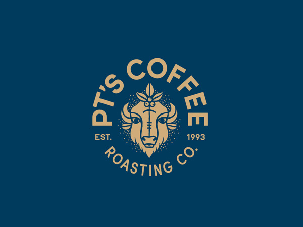 PT's Coffee Roasting Logo