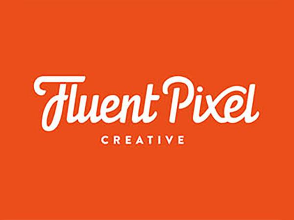 Fluent Pixel Creative Logo