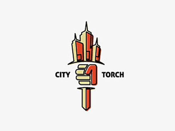 City Torch Logo
