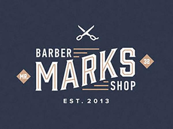 Marks Barber Shop Logo
