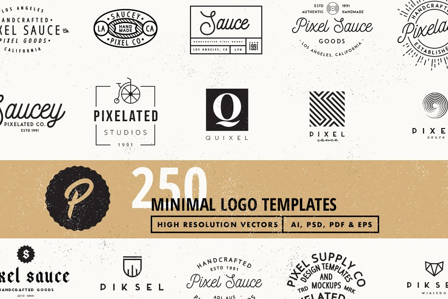 250 Vector Logo Templates