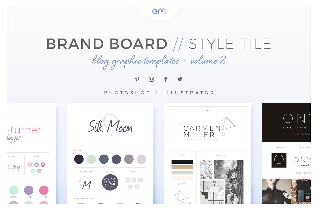 Brand Boards Style Tiles Vol 2