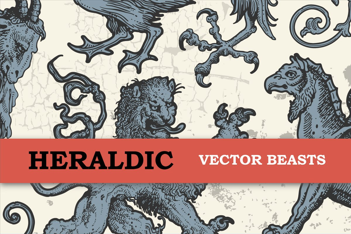 Heraldic Beasts Vector Bundle