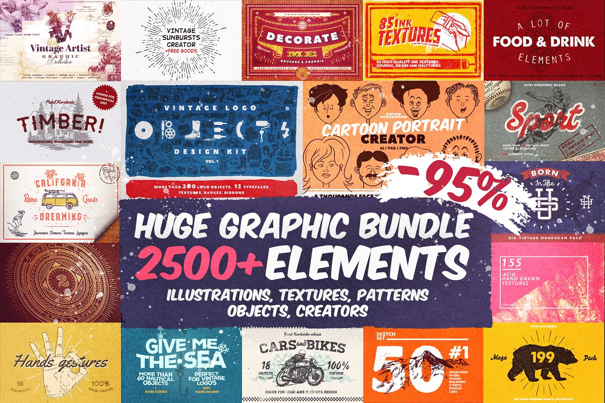 Huge Graphic Bundle 2