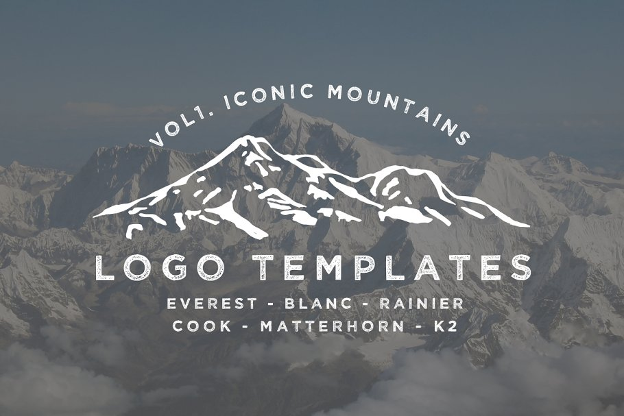 Iconic Mountain Logo Templates Vol 1