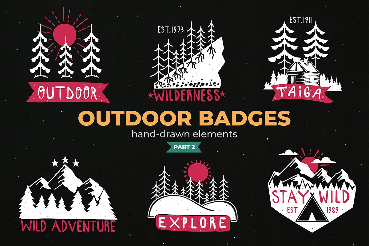 Outdoor Logo Badges Part Ii