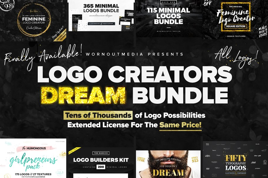 Sale Logo Creators Dream Bundle