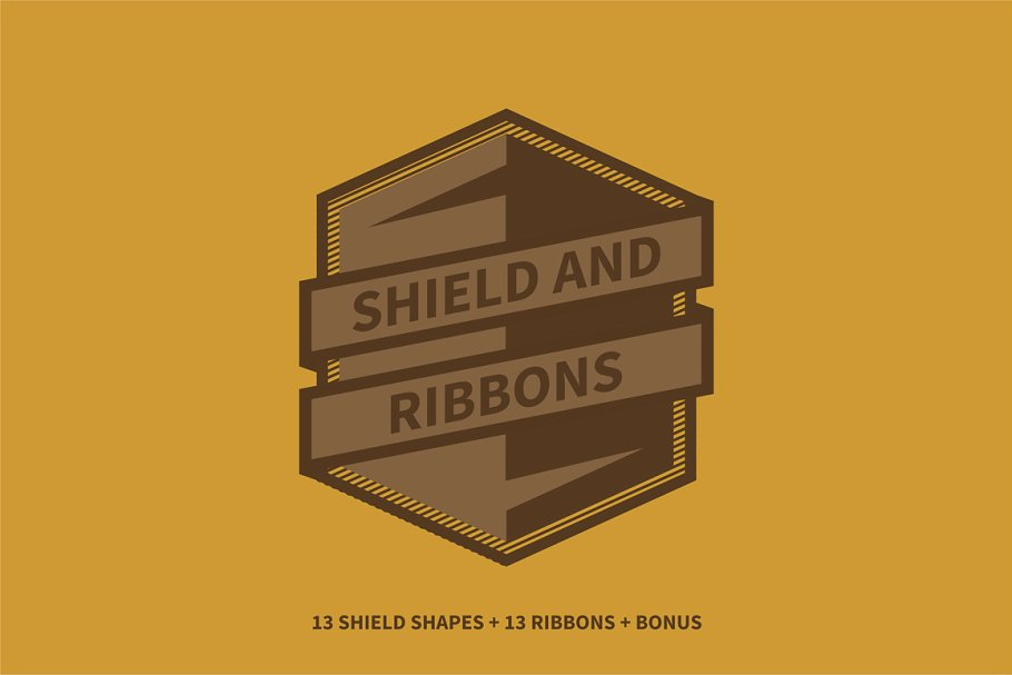 Shield And Ribbons