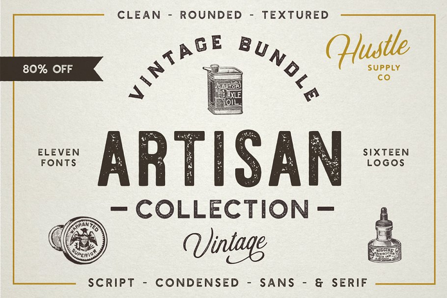 The Artisan Collection Font Bundle