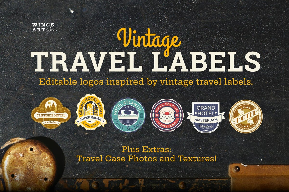 Travel Labels And Badges