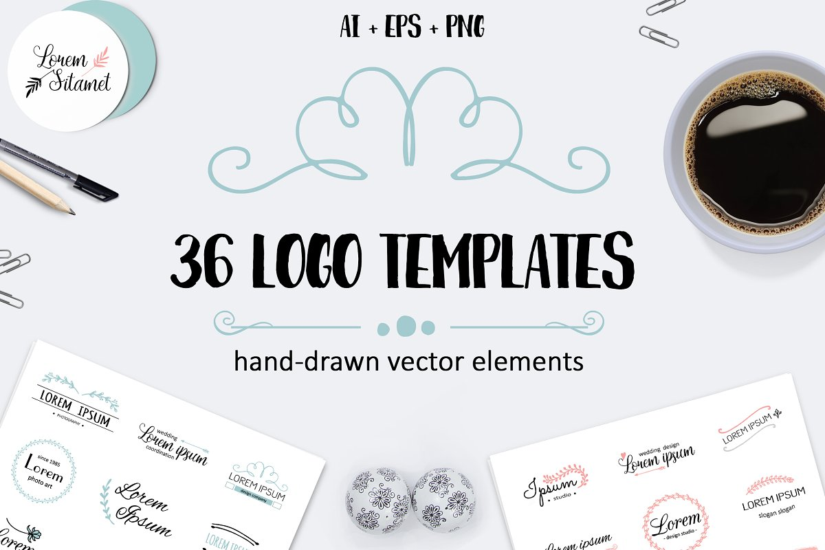 Vector Logo Templates Logotypes